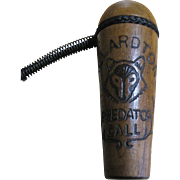 Nice Vintage Wooden Mallardtone Predator Call