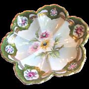 Beautiful Nippon Translucent Porcelain Hand Painted Bowl