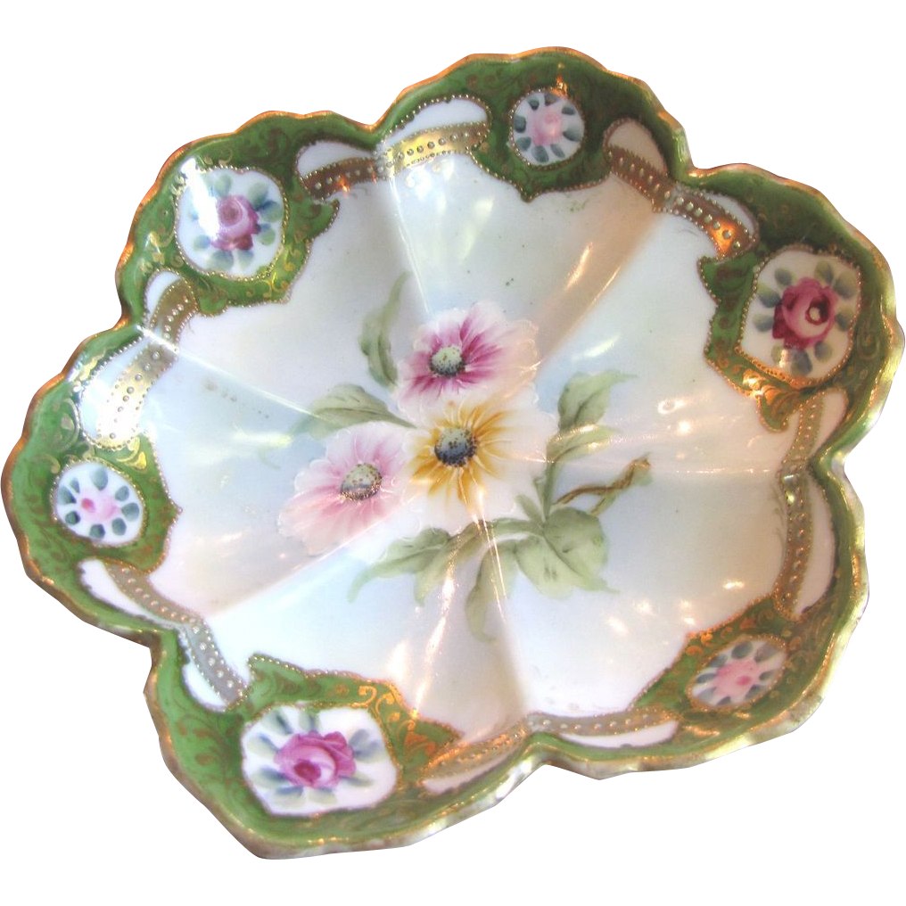 how to clean hand painted porcelain