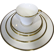 Pristine 5 Piece Place Setting in Lenox Eternal White (up to 3 sets available)