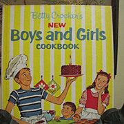 1965, Betty Crocker's Vintage New Boys and Girls Cookbook 1st edition/5th printing