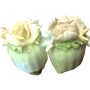 Vintage Spaghetti Floral Decorative Salt & Pepper Shakers, Ardalt