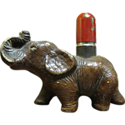 Art Deco Figural Elephant Strikalite Lighter‏ 1930's