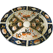 Beautiful Hand Painted and Gilt Doll Platter -  Occupied Japan