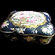 "Harris, Jan Large 8"" Oriental Style Porcelain Box by Andrea by Sadek"