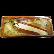 "Vintage Genuine Eppinger Dardevle Lure 5"" in Original Box"