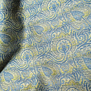 "100"" Bolt End of Fully Woven Paisley Brocade"
