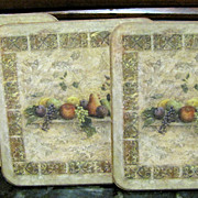Boxed Set of 6 Pimpernel Coasters or Drink Mats
