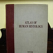 Atlas of Human Histology By Mariano S. H. Di Fiore printed 1958