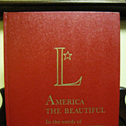 H, Aug. American the Beautiful in the Words of Henry Wadsworth Longfellow