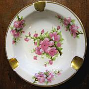 "Royal Chelsea English Bone China ""Peach Blossom"" Ashtray"