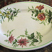 "Atlantic Coast Line Railroad ""Flora of the South"" Platter by Buffalo China (up to 4 available)"