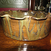 Seagrove, N.C. Pottery Large Decorative Bowl by Jake's Pottery