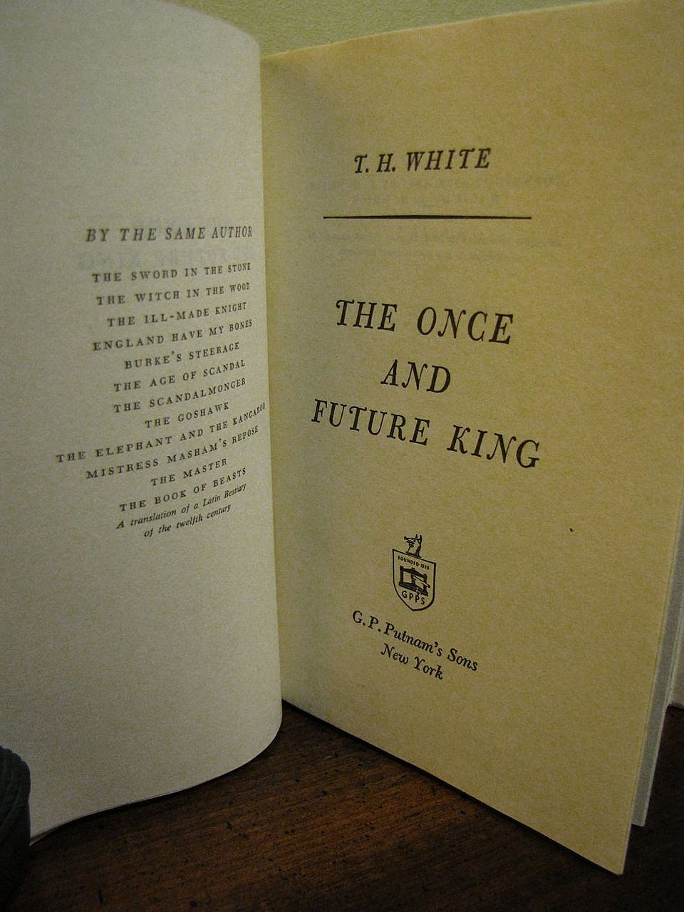 the boyhood of king arthur in t h whites the once and future king The once and future king questions including in the once and future king by th white whose death changes arthur's life forever and who wrote the novel 'the once and future king'.