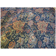 "56"" Remnant of Fully Woven Paisley Tapestry Fabric"