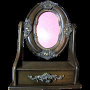 Vanity Photo Frame with Keepsake Jewel Drawer