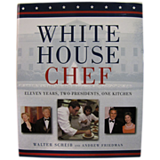 H, Aug. White House Chef by Walter Scheib (Signed) Mint Condition