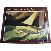Wreck of the Zephyr by Chris Van Allsburg, 1983, 1st Edition