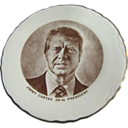 Commemorative Plate of President Jimmy Carter