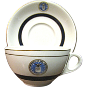 Department of the US Air Force Shenango China Cup & Saucer