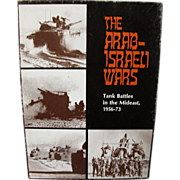 The Avalon Hill Bookcase Game # 821 The Arab - Israeli Wars