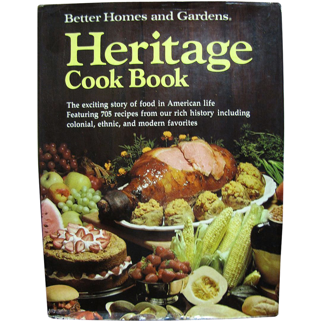 Heritage Cook Book 1975 First Edition First Printing From