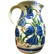 Crail Pottery of Scotland,  20th Century Art Pottery Pitcher