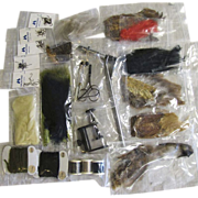 Fishing Fly Tying Kit, 26 Pieces, Unused and Mint