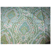 4 3/4 Yards of Corded Cotton Paisley by Kaufmann