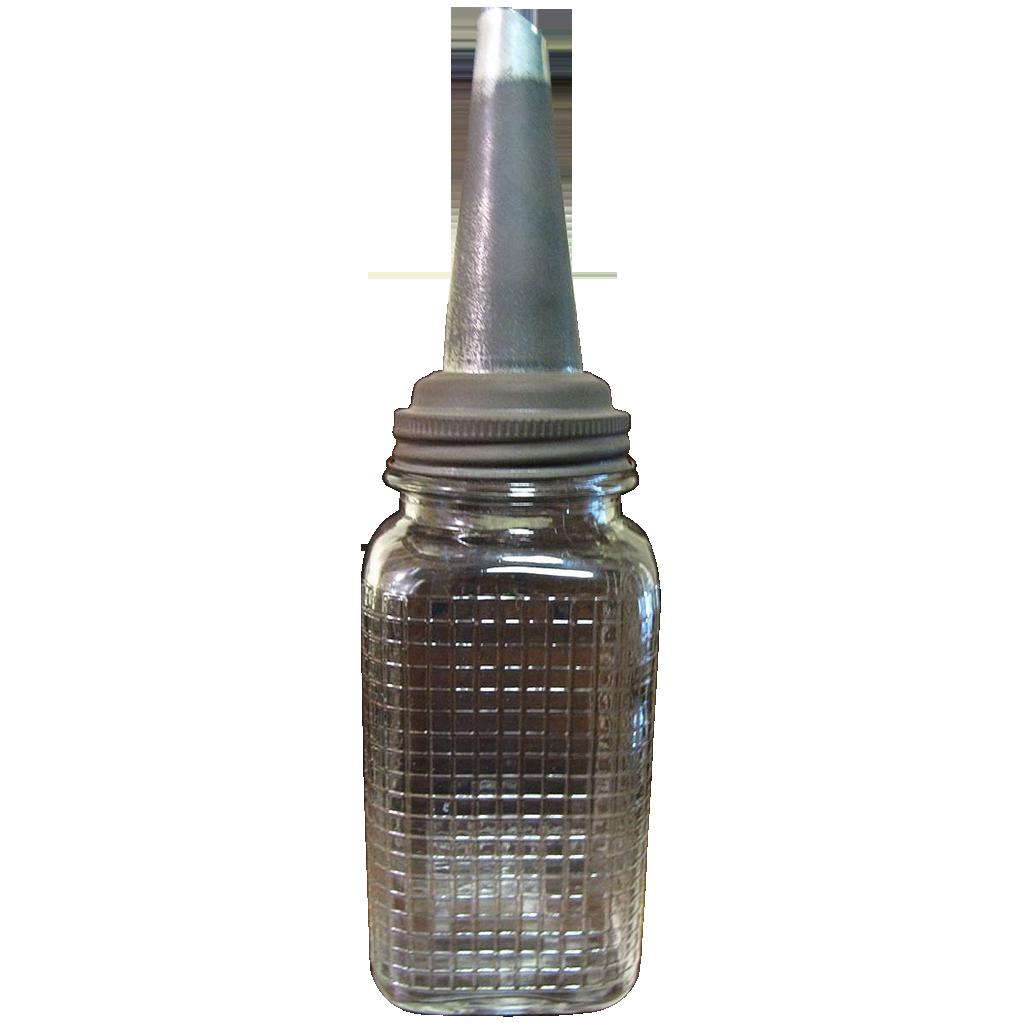 1920 39 S Service Station Motor Oil Bottle Quart Very Rare