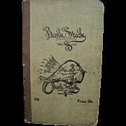 Antique 1900's Bank Stock Pocket Memo Note Pad - Unused