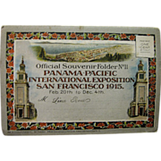 1915, Panama Pacific International Exposition San Francisco, Official Souvenir Folder No. 11