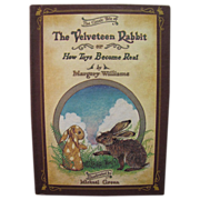 The Velveteen Rabbit Or, How Toys Become Real by Margery Williams