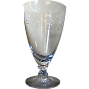 Fostoria Nosegay Iced Tea Glass (up to 12 available)