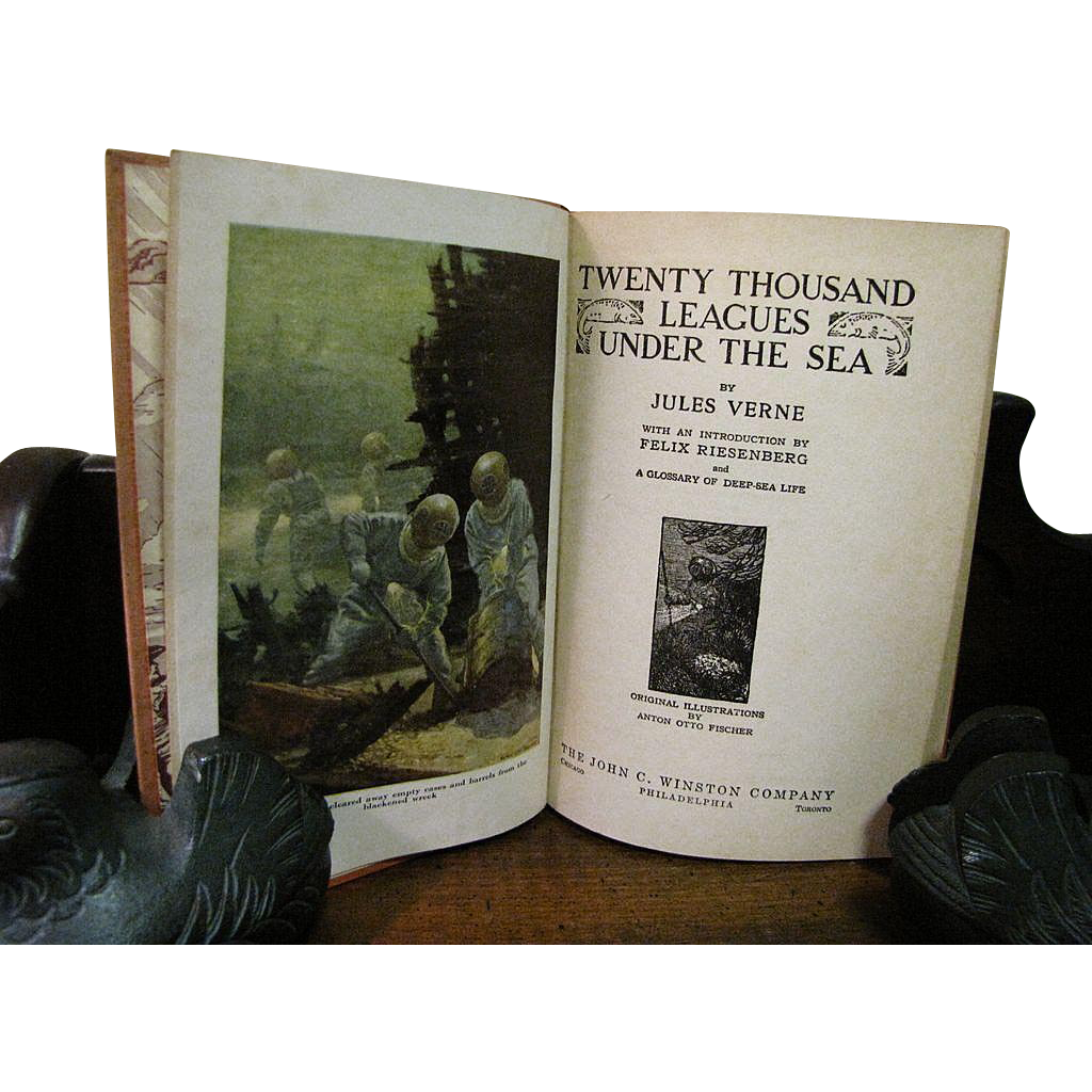 a review of twenty thousand leagues under the sea by jules verne Jules verne's wrote a sequel to this book: l'île mystérieuse (the mysterious island, 1874), which concludes the stories begun by twenty thousand leagues under the sea and in search of the castaways.