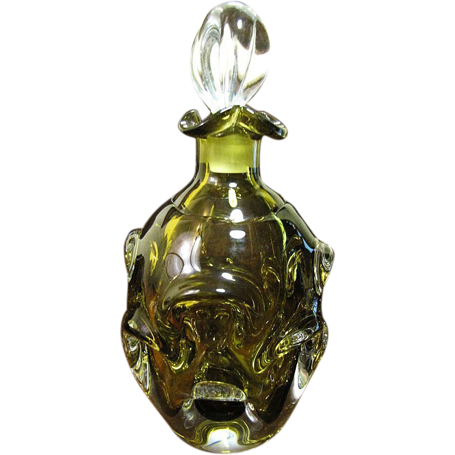 Vintage Glass Decanter 96