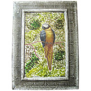 Harris June @ 30% discount, Cheerful Acrylic on Board Parrot Painting