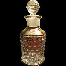 Beautiful Old Thousand Eye Glass Perfume Bottle