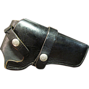 Vintage Bucheimer Leather Pistol Holster B7