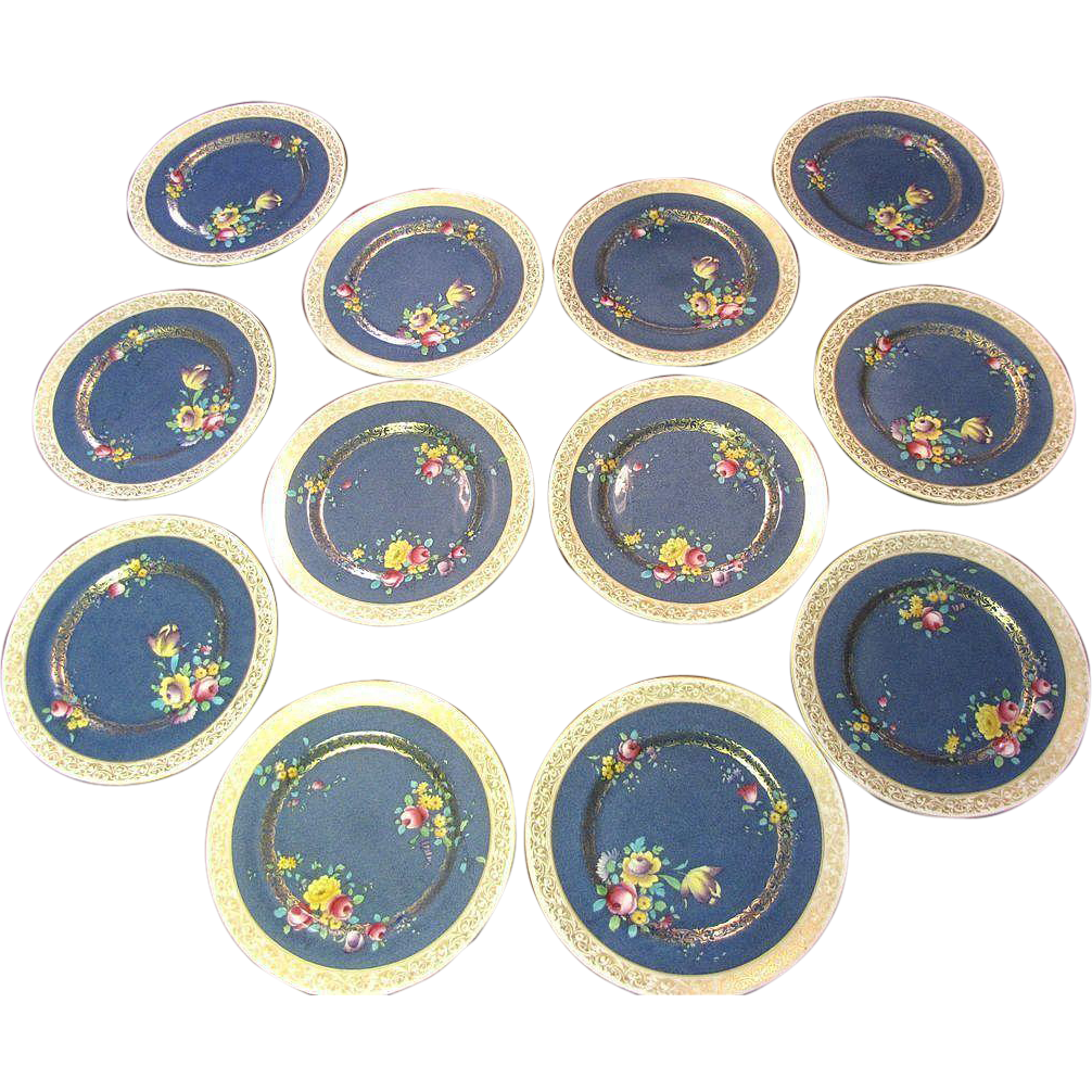 Hand Painted Royal Doulton Plates