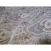 3 Yards Heavy Chenille Paisley Upholstery  Fabric
