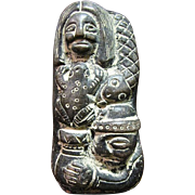 South American Indian Pottery Fertility Statue
