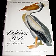The Audubon Society Baby Elephant Folio. Audubon's Birds of America , By Peterson, 917 Illustrations,