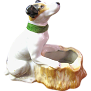 Mid Century Japanese Dog Ashtray, Great Design!