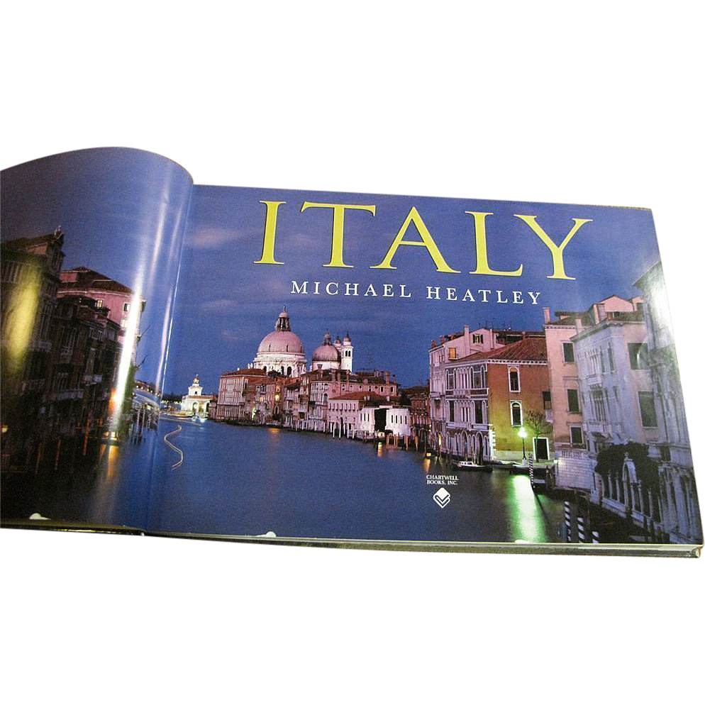 Italy by david lyons and michael heatley coffee table book like italy by david lyons and michael heatley coffee table book like new geotapseo Gallery