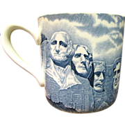 Mount Rushmore Coffee Mug, Johnson Brothers of England