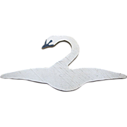 Charming Hand Made Swan Doll Dress Hanger
