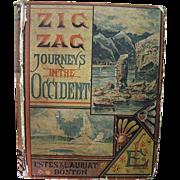 1883,  Zig Zag Journeys In The Occident by Hezekiah Butterworth