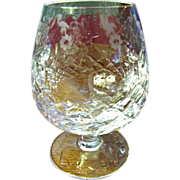 Rogaska Gallia Lead Crystal Brandy Glass (up to 8 available)