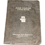 Circa 1933, Home Comfort Wrought Iron Range Catalog & Cookbook
